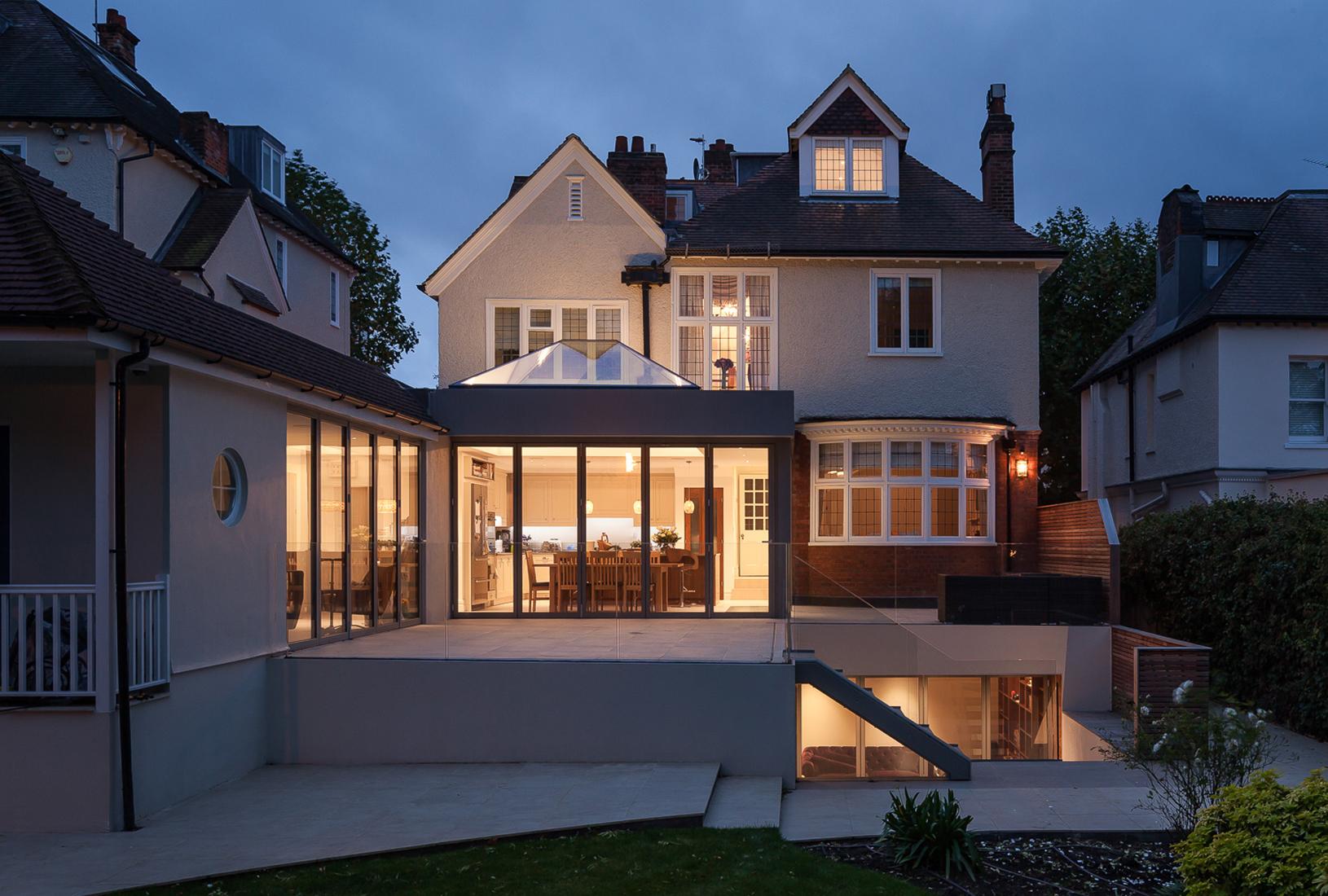 Stacking Cube House, Wimbledon